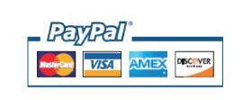 We Proudly Accept PayPal